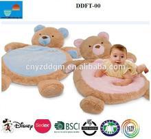 baby play mat/plush baby play mat/ baby care play mat