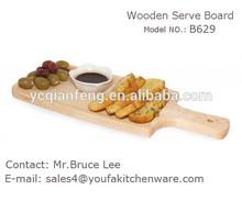 Fan-shaped wood BBQ Board / Serving Tray /Serving board