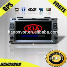 HANOSVOR China Factory Directly Sale KI A Forte Car DVD Player 7inch HD Touch Screen GPS/BT/USB/SD/TV