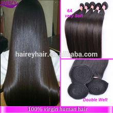 unprocessed virgin brazilian hair Most popular 6A Grade brazilian hair wholesale 100% brazilian remy hair