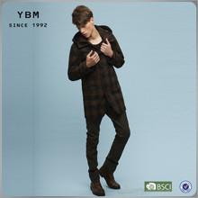 2014-2015 New Fashion Men Woolen Coat Long Apparel Men Garment