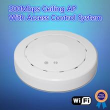 2.4Ghz 300Mbps high power wifi ap module, hotel wireless ceiling ap, long range OEM wireless access point