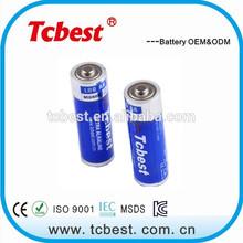 Shenzhen supplier for 2500mah aa lr6 am3 alkaline battery