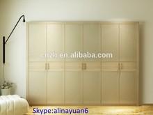 Fashion laminate Swing wardrobe , bedroom clost sets, 2014 bedroom furniture