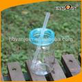 Alta qualidade de plástico pet de garrafas de leite| 8oz