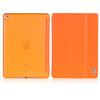 Transparent PC with bracket design case for iPad MINI Retina