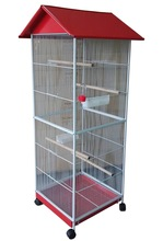 Top Roof Hot Sale Large Metal Parrot Bird Cage