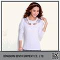 los productos chinos al por mayor más nuevo diseño de la ropa de algodón