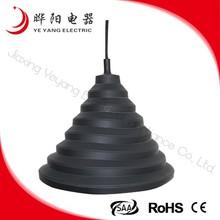 China Manufacturer Black Silicon Pendant Lighting Lamp Max 40w
