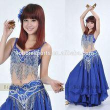 2012 Popular Sexy Handmade Vintage Belly Dance Costume Sets