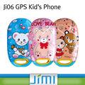 De los niños de jimi teléfono móvil gsm gps de seguimiento, llamadas de socorro, sms, de control de voz ji06