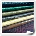 1.0mm dos tono de la piedra de cuero sintético materiales para hacer los zapatos( cuerina párrafo calzado)