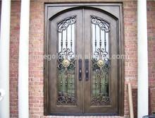 Garage Doors Aluminum Wrought Iron Front Entry Antique Art GYD-15D0357