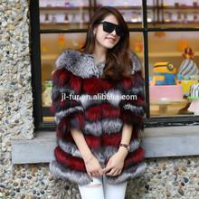 2014 Wholesal Lastest Design Real Fox Fur Coat, Fur Coat ,Fox Coat with Factory Price