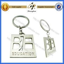 2014 high quality custom metal 3d keychain