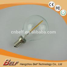 2014 Hot Ra80 led warm yellow light bulb g45 CE RoHS LVD