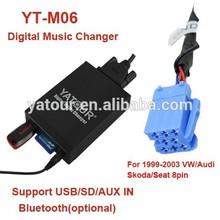 Yatour Car digital MP3 player for VW Beetle/Polo/Golf/Jetta/Passat/Audi/Skoda etc