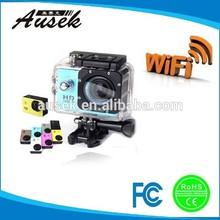 Professional 1.5'' inch 1080p 30fps, 12MP,170 degree lens mini wifi pocket sport video recorder