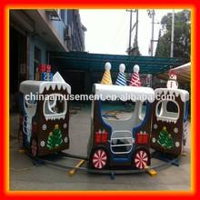 Mini train toy for amusement park train railway for children Christmas Santa train