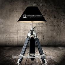 scandinavian modern tripod table lamp