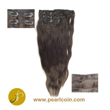 Brazilian Unprocessed Virgin Cuticle Intact Natural Laced Clip in Hair Extension