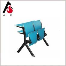 Professional Design University Classroom Study Desk With Folding Chair
