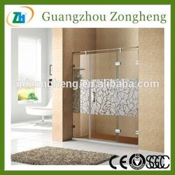 T0211R Mirror Glass Shower Enclosure Door Hinge Glass Door