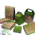 Diseño personalizado de papel de embalaje caja de torta dulce
