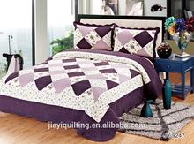 2014 new design flower garden cotton bedspread home textile