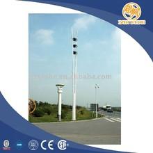 Color flag pole