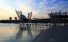 Famous Large Outdoor Metal Sailing Sculpture for decoration