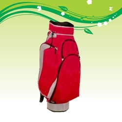 PU Leather Man Used golf cart bag for Professional golfers golf bag