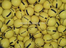 China High quality golf driving range balls & golf course practise balls