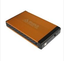 Aluminum 3.5 USB 2.0 HDD Case IDE & SATA HD Hard Disk Drive External Enclosure