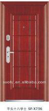 De alta qualidade única folha usado porta de ferro forjado portões