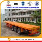 3 axle flat-bed truck & double axle trailer sale