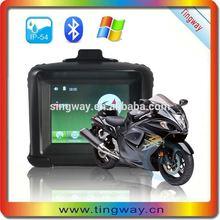 Hot selling 3.5inch gps motorbike & vehicle/ vehicle waterproof motorcle gps