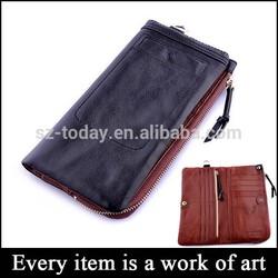 (sz-wallet 56) thin full leather man leather wallet men wallet wholesale