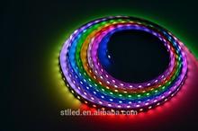 High quality Ws2811 Flexible Dmx 5050 Rgb Strip Led Lights Dc5v 12v 30 60 72led Smd, Shenzhen Smart Lighting Co., Ltd.