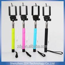 Promoting !!! Trend christmas gift 2014 Z07-5 plus monopod ,Selfie Stick Cable Take Pole Monopod