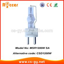 china suppliers MSR1200 SA G 22 5600k metal halide bulb dj scan HTI1200/SE XS