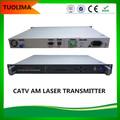 alta qualidade 1310 fibra óptica transmissor de fm para tv e áudio