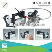 Pneumatic air terminal crimping machine cable range 0.1-6mm2