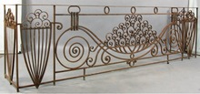 New Rustic Iron Lace Balconies