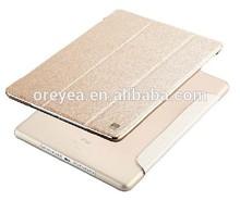 New Silk Grain Design Leather Case for iPad air 2 Cases