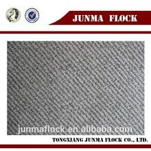 Junma grey black dots design manfacturer china fabric paint spray flocking