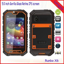 Rugged Phone Runbo X6 IP67 The Most Powerful Smartphone in the world 2GB Ram 32GB Rom