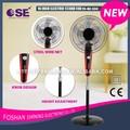 Eletrodomésticos 16 polegadas rodada base stand ventilador fs-40-334
