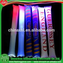 Manufacturer Custom Logo Party Decoration Inflatable Stick LED Flashing Party Decoration