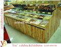 Holz süßigkeiten auslage& Regal